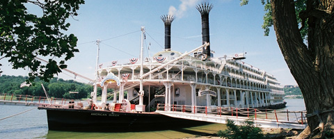 American Queen Steamboat Company Ohio Amp Tennessee River