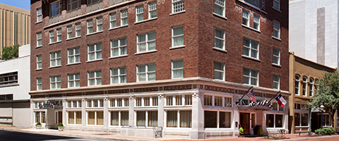 The ashton hotel historic hotels of america for Oldest hotels in america