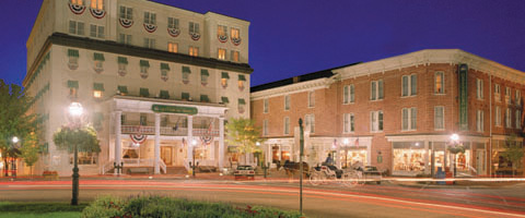 The gettysburg hotel historic hotels of america for Oldest hotels in america