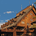 Explore the history of Old Faithful Inn