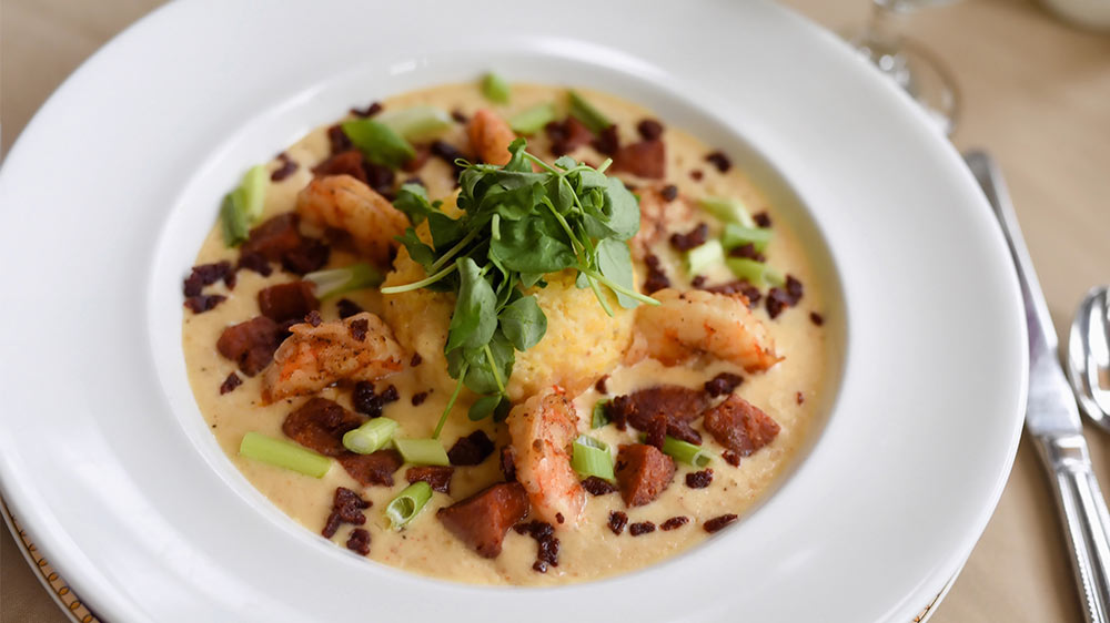 Grand Dining Room's Shrimp and Grits