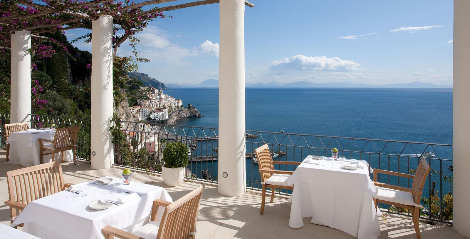 Image of the dining area at NH Collection Grand Hotel Convento di Amalfi in Amalfi, Italy